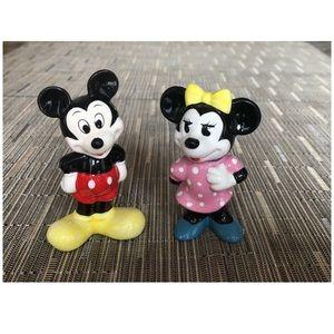 Vintage Disney Mikey/Minnie Figurines Japan/Taiwan